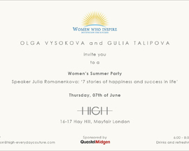 Women's Summer Party